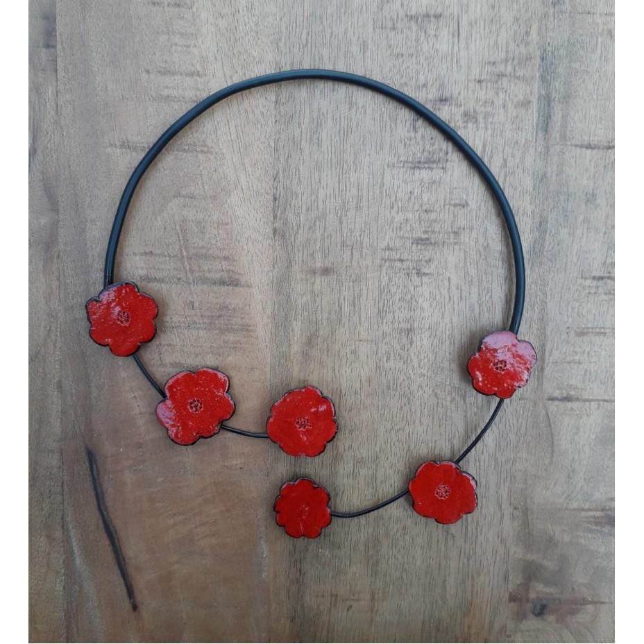 Hanger met rozen