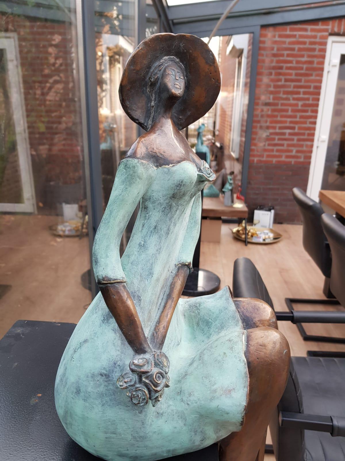 bronzen beeldjes huwelijk